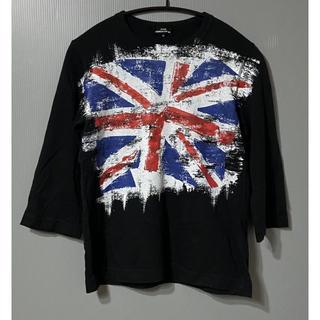 コムデギャルソン(COMME des GARCONS)のR2)トリココムデギャルソン ユニオンジャック ロングTシャツ S (Tシャツ(長袖/七分))