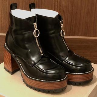 ジーナシス(JEANASIS)のJEANASIS  ジップデザインブーツ(ブーツ)