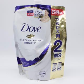 ユニリーバ(Unilever)のDoveボディウォッシュプレミアムモイスチャーケア詰め替え用720g(ボディソープ/石鹸)