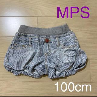 MPS - 【削除前値下げ】MPS Right-on◆デニムショートパンツ◆100cm
