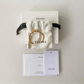 セリーヌ(celine)のCELINE セリーヌ ノットブレスレット ゴールド S (フィービーファイロ)(ブレスレット/バングル)