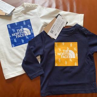 ザノースフェイス(THE NORTH FACE)の新品THE NORTH FACEベビーロングtシャツ(Tシャツ)
