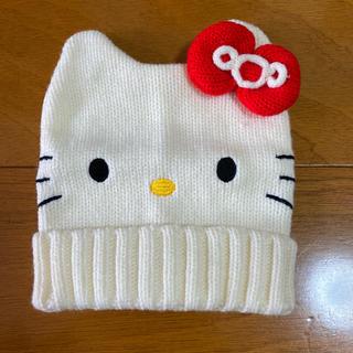 サンリオ(サンリオ)のニット帽 キティ(帽子)