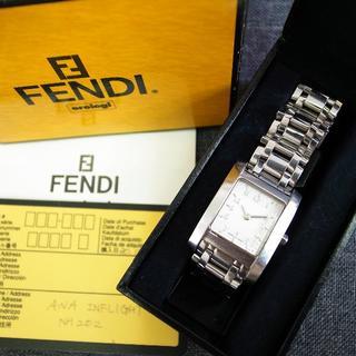フェンディ(FENDI)の正規品☆フェンディ 腕時計 クラシコ 7000L ズッカ バッグ 財布 小物(腕時計)