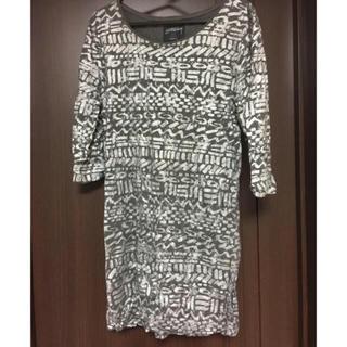 ステューシー(STUSSY)のステューシーチュニック丈Tシャツ(Tシャツ(長袖/七分))