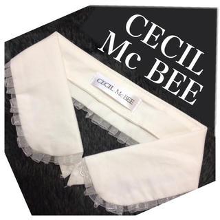 セシルマクビー(CECIL McBEE)の新品☆セシル つけえり 非売品付録(つけ襟)