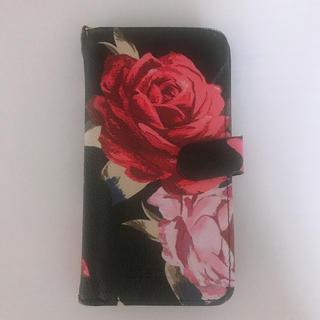 リエンダ(rienda)のrienda  花柄 iPhone7 ケース(iPhoneケース)