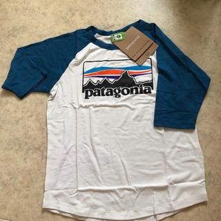 パタゴニア(patagonia)のパタゴニア Tシャツ ハーフ袖 キッズ s  廃盤 ロゴ(Tシャツ/カットソー)