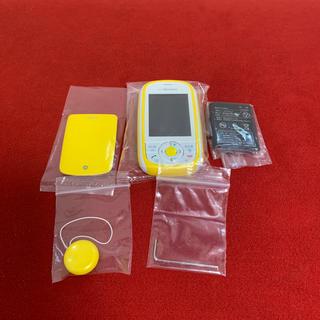 エヌティティドコモ(NTTdocomo)の新品未使用 docomo キッズケータイ HW-01D(携帯電話本体)