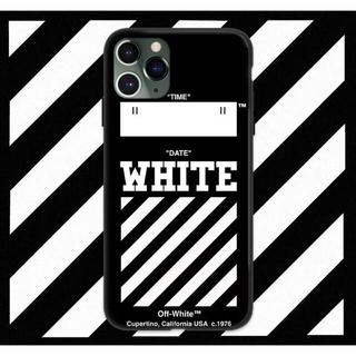 オフホワイト(OFF-WHITE)のお洒落なデザイン  オフホワイト  iPhoneケース  最新サイズもあります(iPhoneケース)