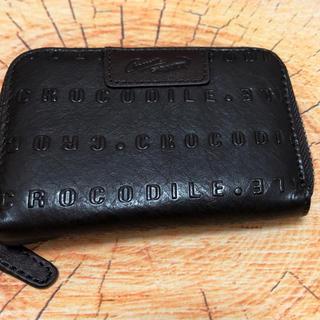 クロコダイル(Crocodile)のクロコダイル ミニ財布(折り財布)