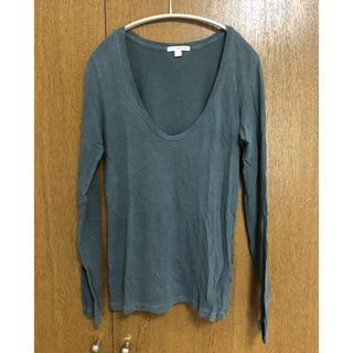 ジェームスパース(JAMES PERSE)のJAMES PERSE ジェームスパース 深UネックTシャツ(長袖)(Tシャツ(長袖/七分))