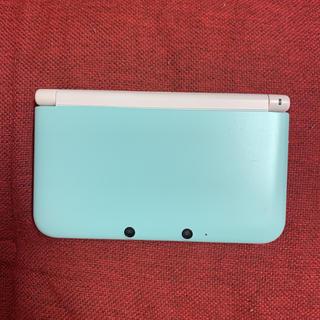 ニンテンドー3DS(ニンテンドー3DS)のニンテンドー3DS LL ミントXホワイト【メーカー生産終了】(携帯用ゲーム機本体)