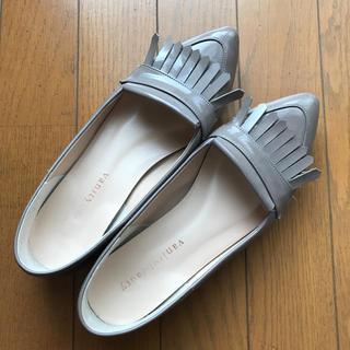 バニティービューティー(vanitybeauty)のvanity beauty ローファー エナメル フラット パンプス 24(ローファー/革靴)