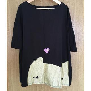 ツモリチサト(TSUMORI CHISATO)のツモリチサト cats Tシャツ(Tシャツ(半袖/袖なし))