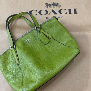 コーチ(COACH)のcoach ショルダーバッグ 緑(ショルダーバッグ)