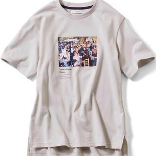 フェリシモ(FELISSIMO)のフェリシモ 印象派アートTシャツ(ルノワール)新品(Tシャツ(半袖/袖なし))