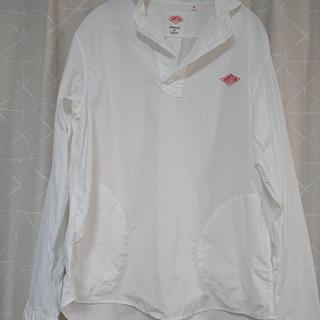 ダントン(DANTON)の《シマタ様専用》ダントン 丸襟プルオーバーシャツ サイズ42(シャツ/ブラウス(長袖/七分))