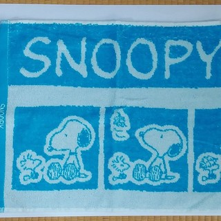 スヌーピー(SNOOPY)のスヌーピー フェイスタオル 1枚(タオル)