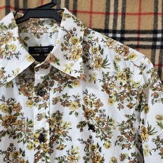 バーバリーブラックレーベル(BURBERRY BLACK LABEL)の【人気アロハシャツ】モノグラムシャツ(シャツ)