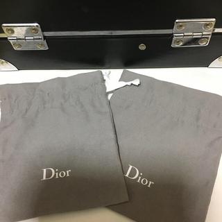ディオール(Dior)のディオール 巾着 2枚(ノベルティグッズ)