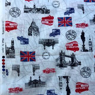 SEVENBERRY イギリス ロンドン 生地 110cm×100cm ブロード(生地/糸)