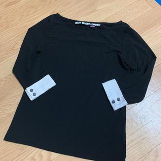 マリークワント(MARY QUANT)のpink様専用 七分袖カットソー ブラウス袖 38(カットソー(長袖/七分))