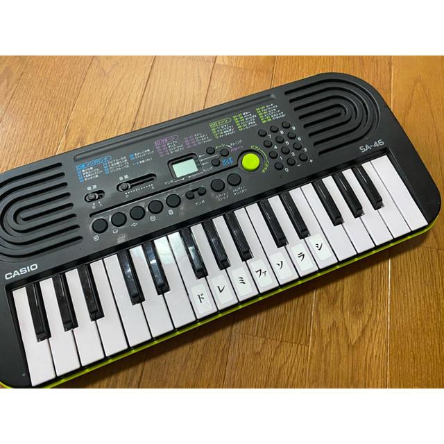 CASIO(カシオ)の電子ピアノCASIO  SA-46 楽器の鍵盤楽器(電子ピアノ)の商品写真