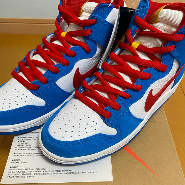 "NIKE(ナイキ)の NIKE SB DUNK HIGH ""DORAEMON 28.0 メンズの靴/シューズ(スニーカー)の商品写真"