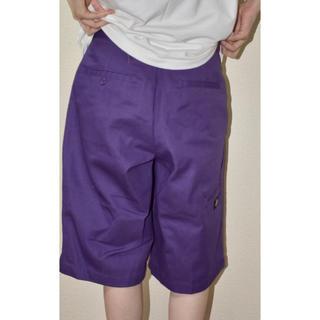 ディッキーズ(Dickies)のDickies ハーフパンツ 紫(ハーフパンツ)