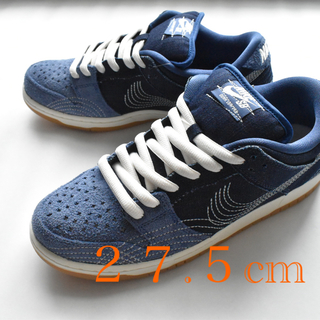 "ナイキ(NIKE)のNIKE SB DUNK LOW  ""SASHIKO"" DENIM GAM(スニーカー)"