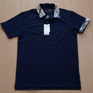 BURBERRY BLACK LABEL - 未使用品☆【バーバリーブラックレーベル】ポロシャツ メンズ M