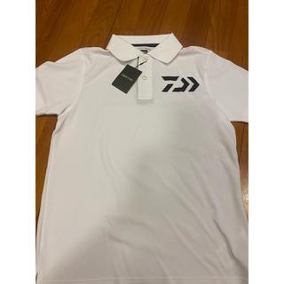 ダイワ(DAIWA)のDAIWA ポロシャツ ホワイト WL 新品•未使用(ウエア)