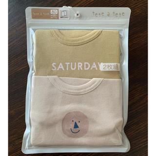futafuta - ☆新品未開封品☆【tete a tete(テータテート)】曜日 袖なしシャツ