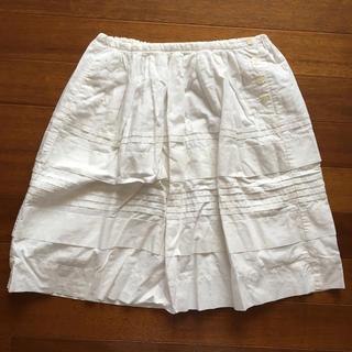 ラルフローレン(Ralph Lauren)のホワイトスカート(ミニスカート)