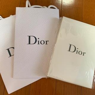 ディオール(Dior)のDior 紙袋、ノートブックセット(ノベルティグッズ)