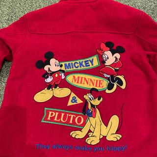 ディズニー(Disney)の古着 ビンテージ 子供服120 コート120(コート)