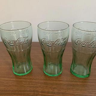 コカコーラ(コカ・コーラ)のコカコーラ ガラス製 コップ ②(グラス/カップ)