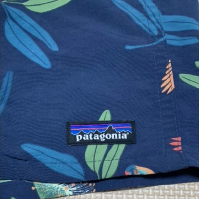 patagonia(パタゴニア)のパタゴニア バギーズショーツ 5インチ 鳥柄 patagonia メンズのパンツ(ショートパンツ)の商品写真