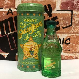 ヴェルサーチ(VERSACE)のグリーン ジーンズ ヴェルサーチ オードトワレ 香水(香水(男性用))