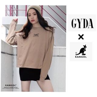 ジェイダ(GYDA)の新品未使用 KANGOL×GYDA BACKラインテープロンT(Tシャツ(長袖/七分))