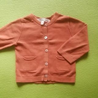 ボンポワン(Bonpoint)のボンポワン♡6mカーデガン茶系(カーディガン/ボレロ)