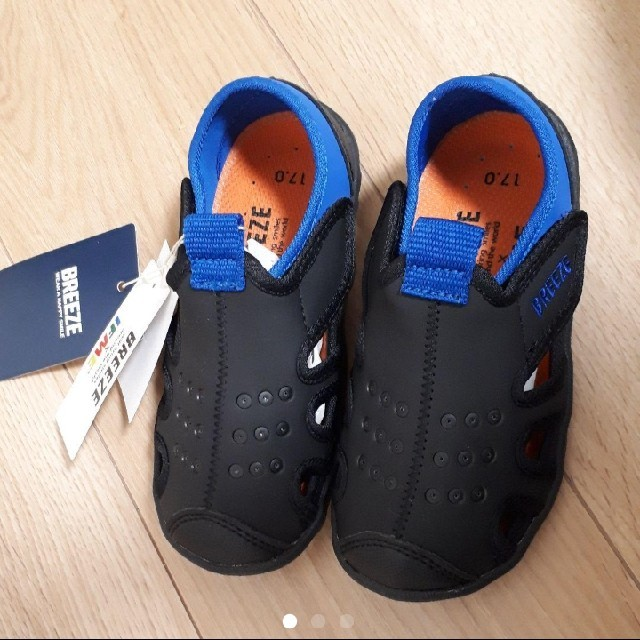BREEZE(ブリーズ)の新品 IFME サンダル BREEZE 17 イフミー キッズ/ベビー/マタニティのキッズ靴/シューズ(15cm~)(サンダル)の商品写真