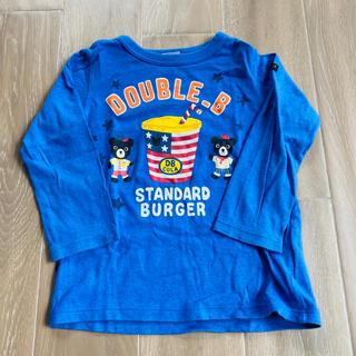 ダブルビー(DOUBLE.B)のミキハウス ダブルビー ハンバーガーショップ ロンT 100(Tシャツ/カットソー)