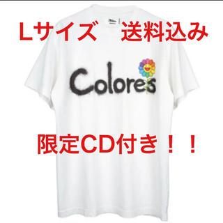 定価以下!J バルヴィン x 村上隆 Tシャツ 限定CD付き!Lサイズ(Tシャツ/カットソー(半袖/袖なし))