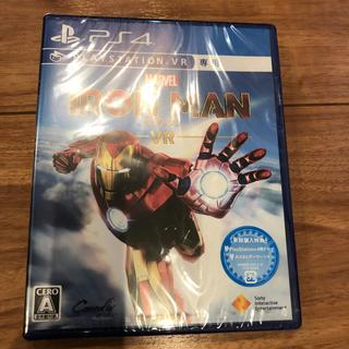 プレイステーションヴィーアール(PlayStation VR)の新品 マーベルアイアンマン VR PS4 早期購入特典付(家庭用ゲームソフト)