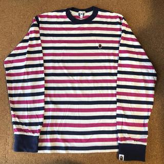 アベイシングエイプ(A BATHING APE)のBAPE ボーダーTシャツ(Tシャツ/カットソー(七分/長袖))