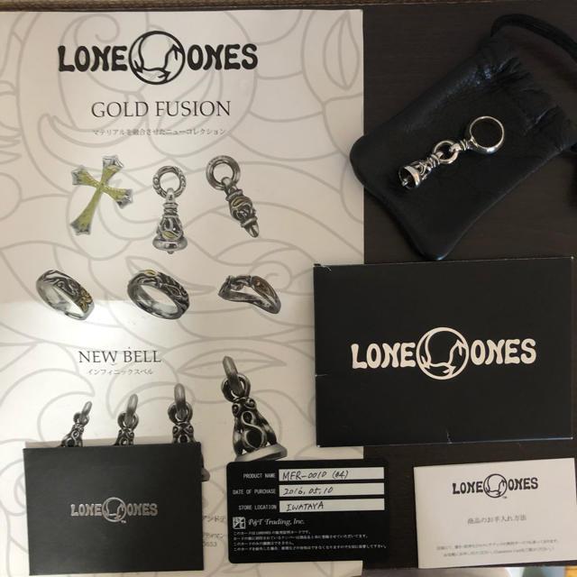LONE ONES(ロンワンズ)のロンワンズ  ベル リング メンズのアクセサリー(リング(指輪))の商品写真