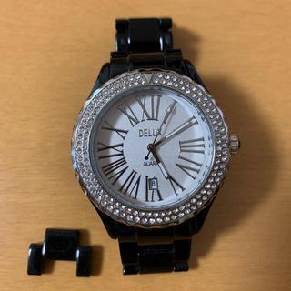デラックス(DELUXE)のDELUX TIMEISMONEY メンズ腕時計(腕時計(アナログ))