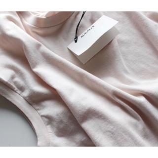 ヤエカ(YAECA)のAURALEE シームレススリーブレスクルーネックT オーラリー(Tシャツ(半袖/袖なし))